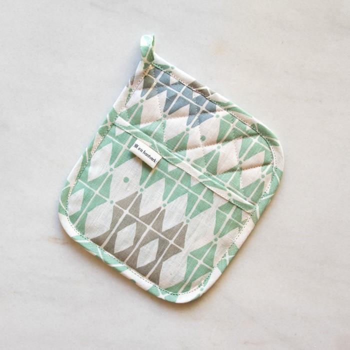 Manopla de cocina de lino de Iris Hantverk