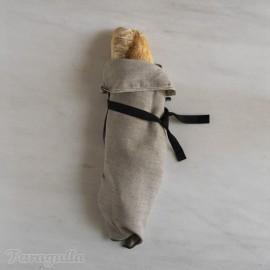 Bolsa de lino para el pan