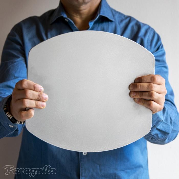 Plancha de acero para hornear Oval de Faragulla