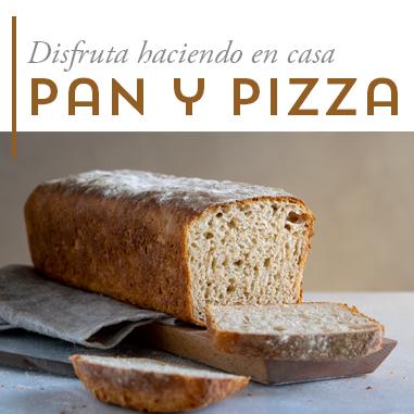 Pan y pizza en casa