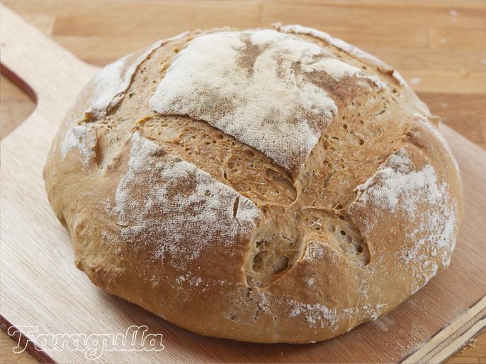 Pan básico para comenzar a hacer pan en casa