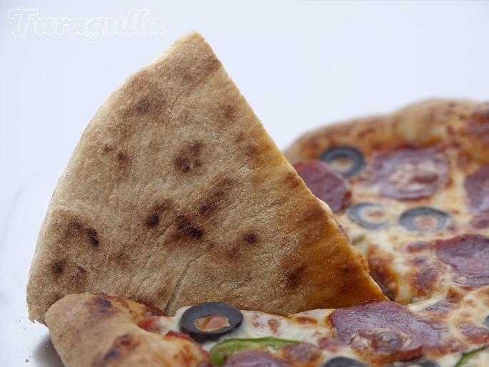 Plancha de acero para pizza de Faragulla