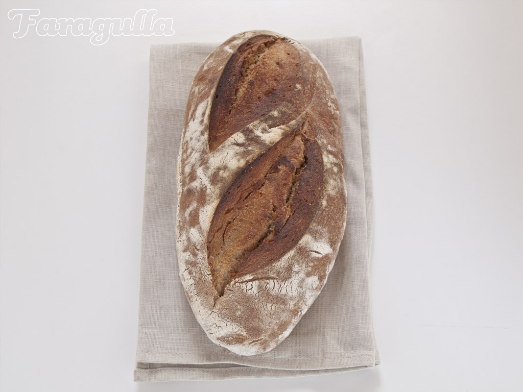 Pan de masa madre de Vermont de Jeffrey Hamelman · Faragulla