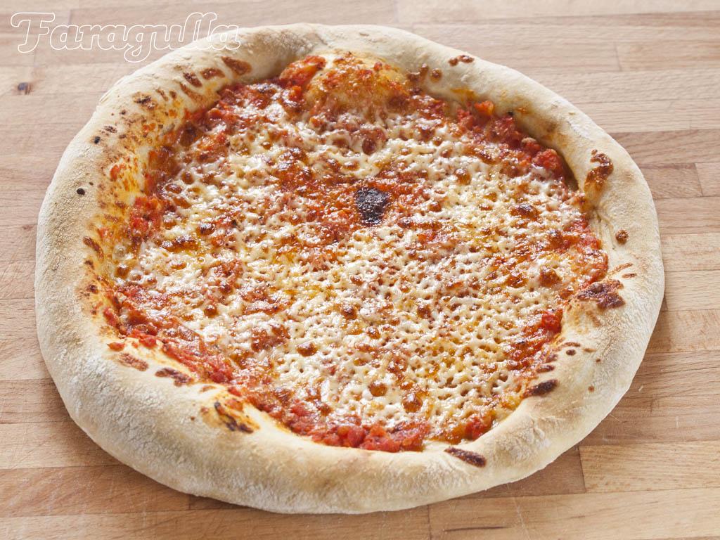 Masa de pizza estilo New York · Faragulla