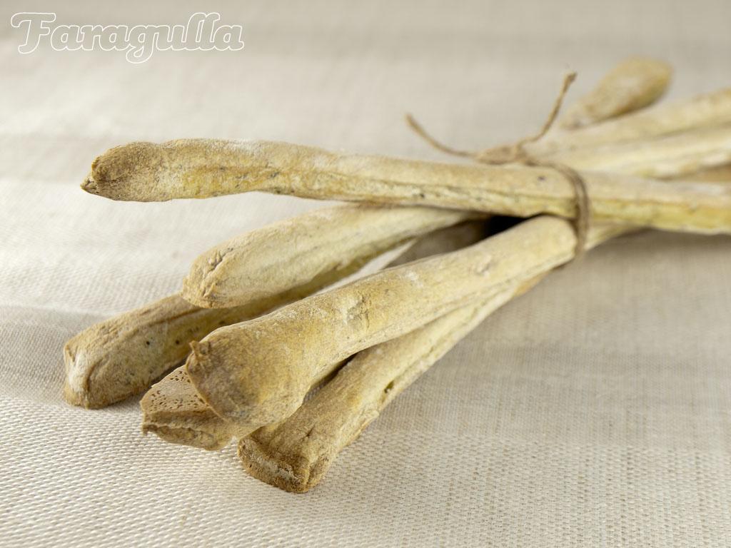 Receta de Grissini de hierbas frescas · Faragulla