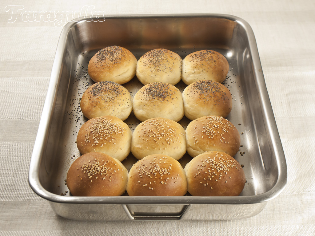 Receta de panecillos de hamburguesa súper tiernos · Faragulla