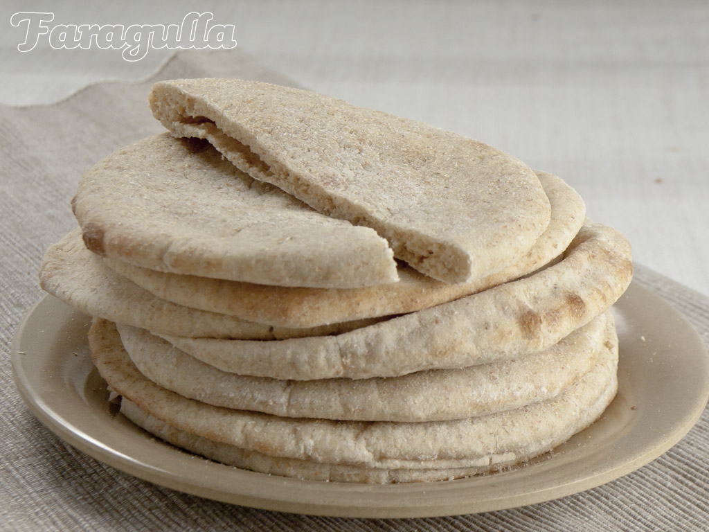 Receta de pan pita casero de Dan Lepard