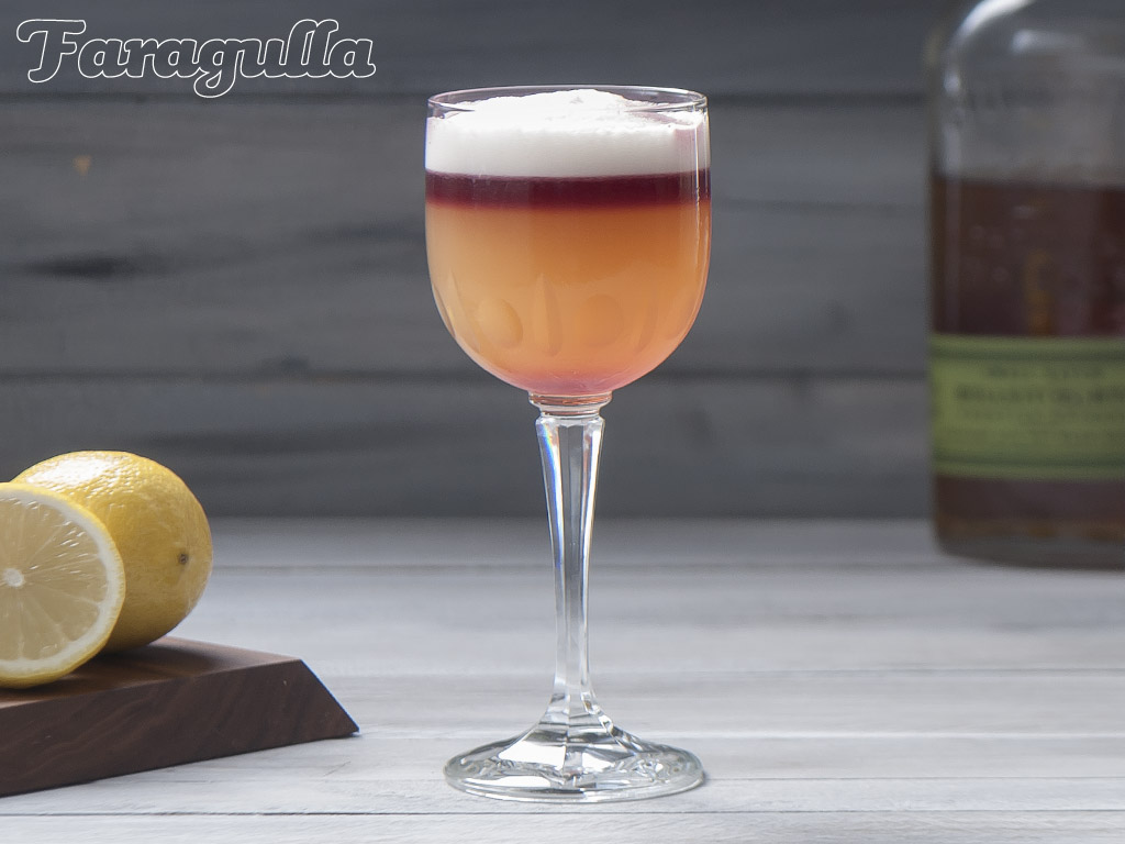 Receta New York Sour coctel