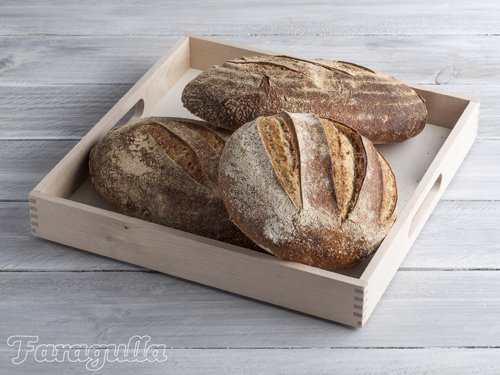 Pan de masa madre integral Hamelman