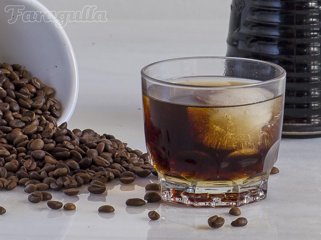 Cold brew coffe o café extraído en frío de Faragulla