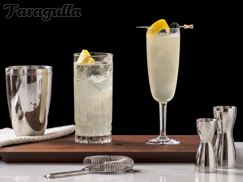 Receta del cóltel French 75 · Faragulla