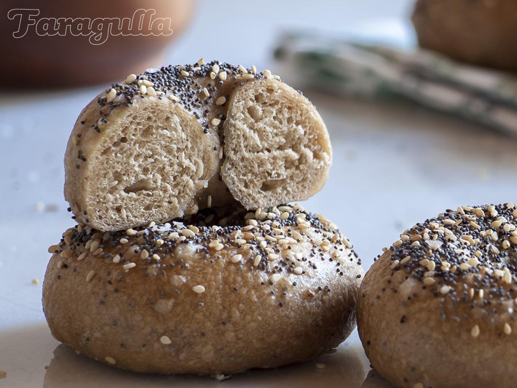 Receta de bagels por Faragulla