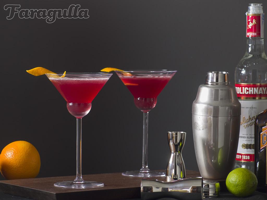 Cosmopolitan coctel · Faragulla
