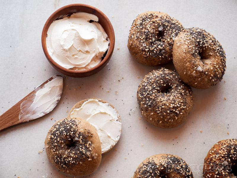 Receta de bagels, para que los bagels estilo New York te queden perfectos en casa