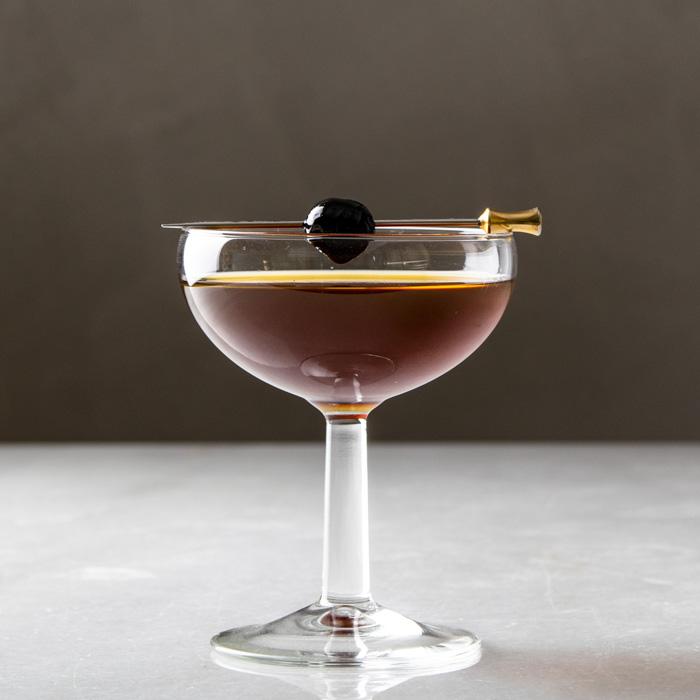 Coctel Brooklyn Perfect, clásico, elegante y delicioso