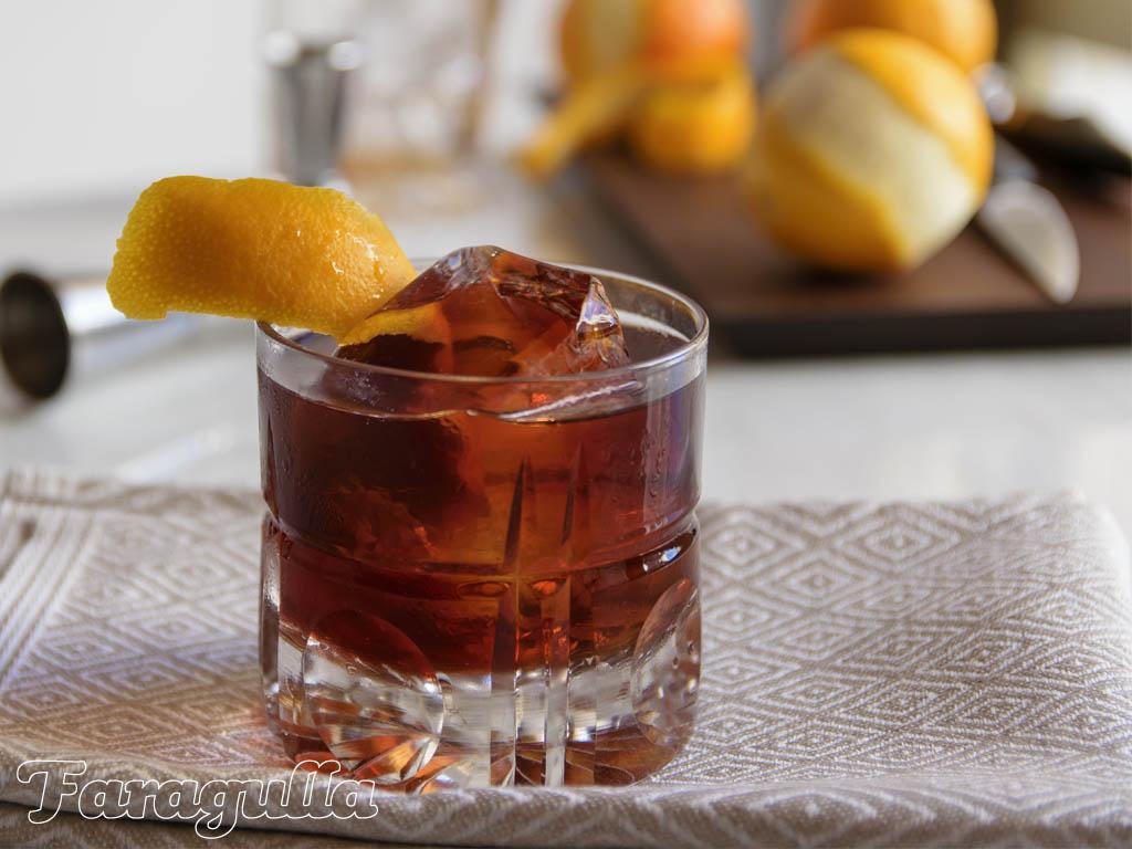 Cold Brew Negroni, el cóctel con café extraído el frío · Faragulla