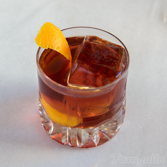 Cold Brew Negroni, un cóctel con café extraído en frío