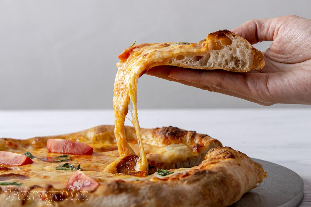 Como hornear pizza en casa con la plancha Pizza Pro de Faragulla