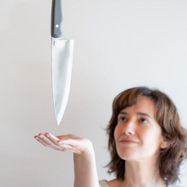 Diseño de los cuchillos Ergo, los primeros cuchillos profesionales hechos en Taramundi