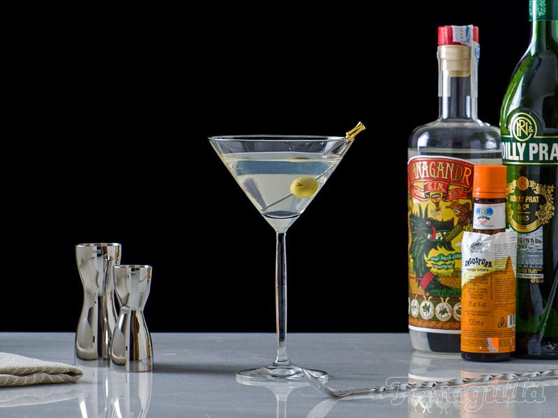 Dry Martini Nº1 una fórmula sencilla para un cóctel complejo