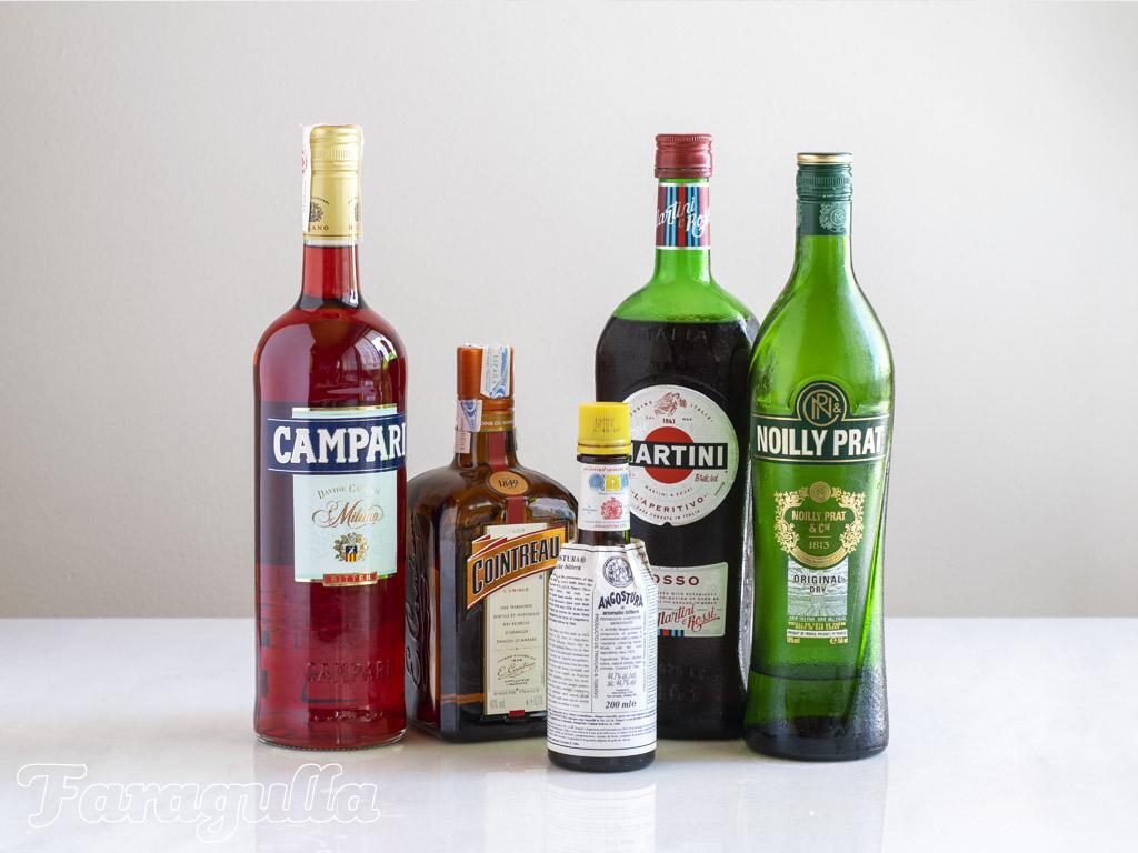 Las 10 botellas con las que empezar tu bar en casa, modificadores