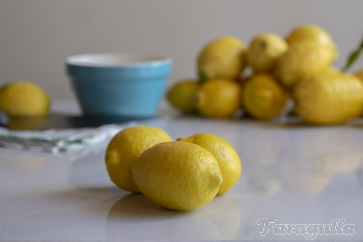 Limones para oleo Saccharum de Faragulla