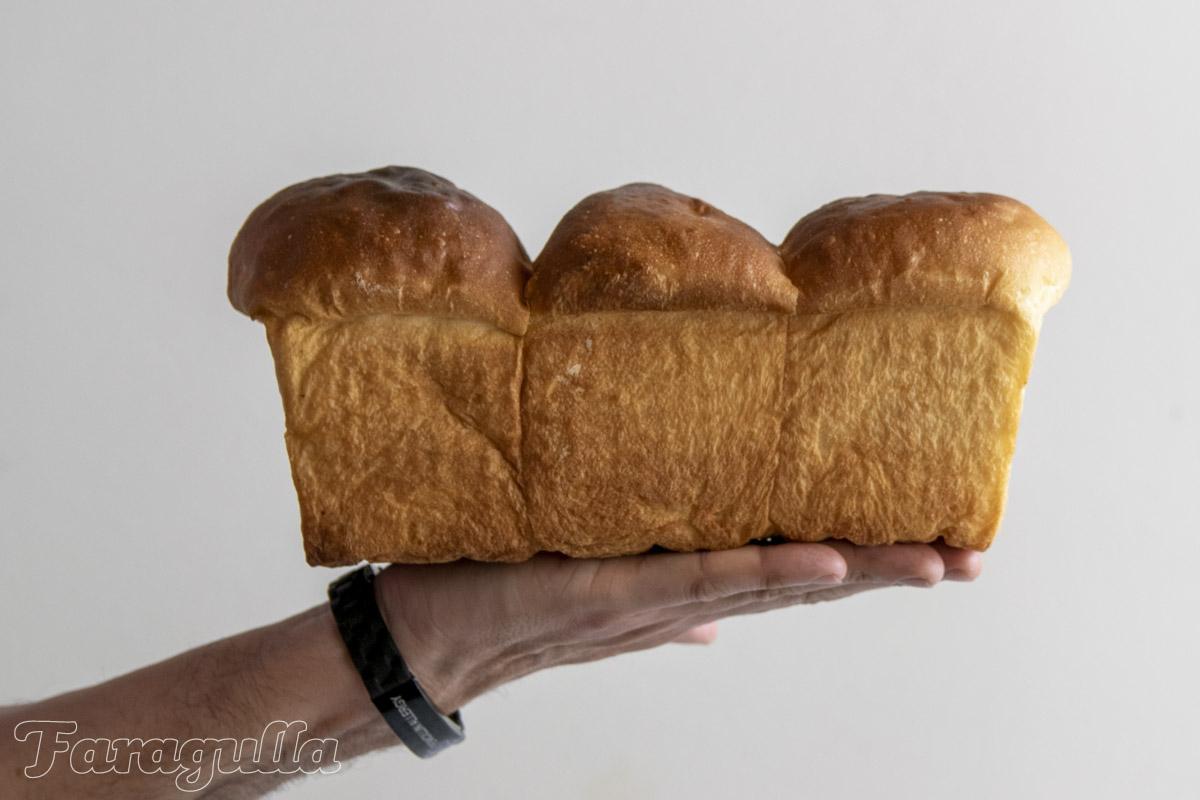 Pan Hokkaido o pan de leche japonés · Faragulla