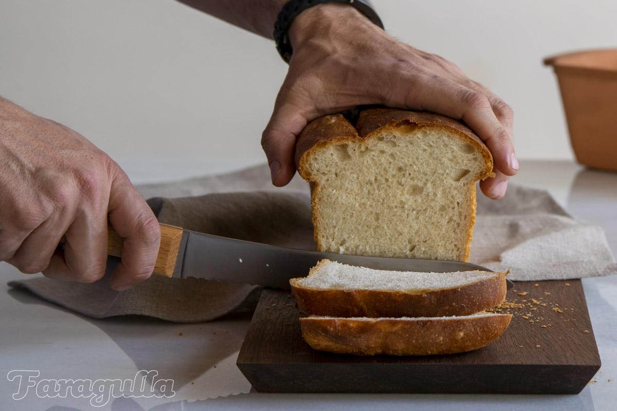 Pan de molde francés o pan de Mie