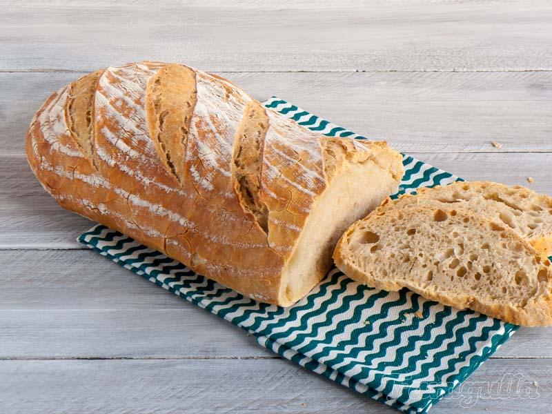 Pan sin amasado, una receta para comenzar a hacer pan en casa