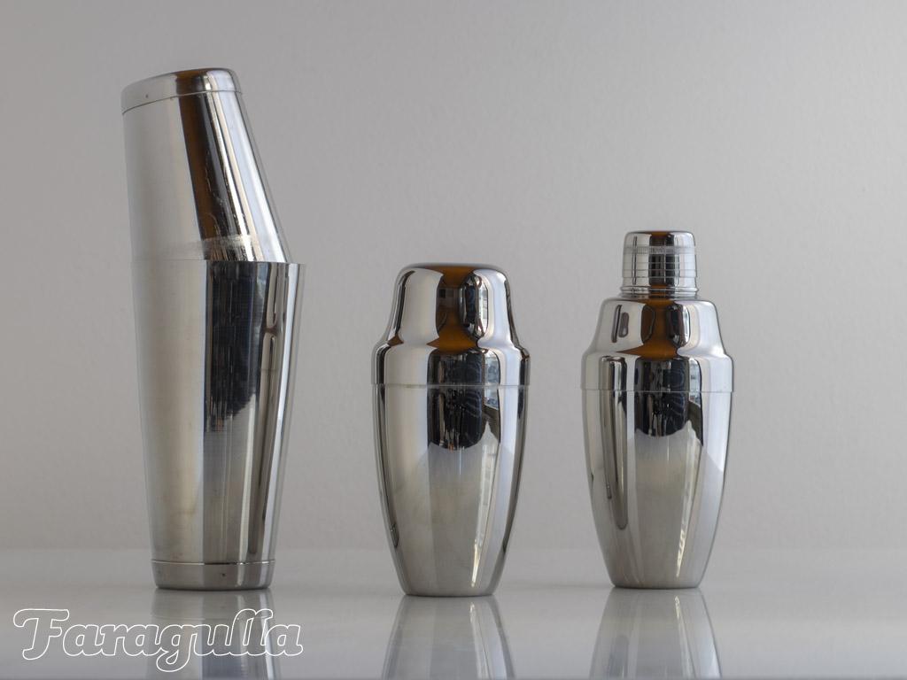Cocteleras · Utensilios indispensables para tu bar en casa
