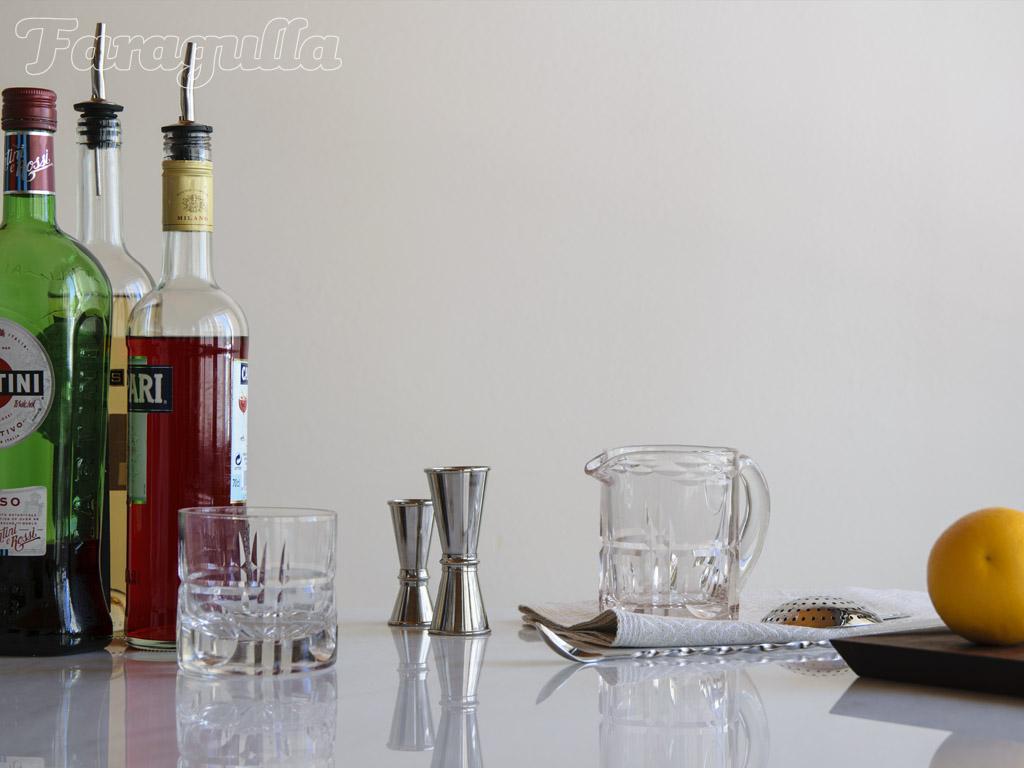 Como preparar cocteles en casa, preparar lo necesario