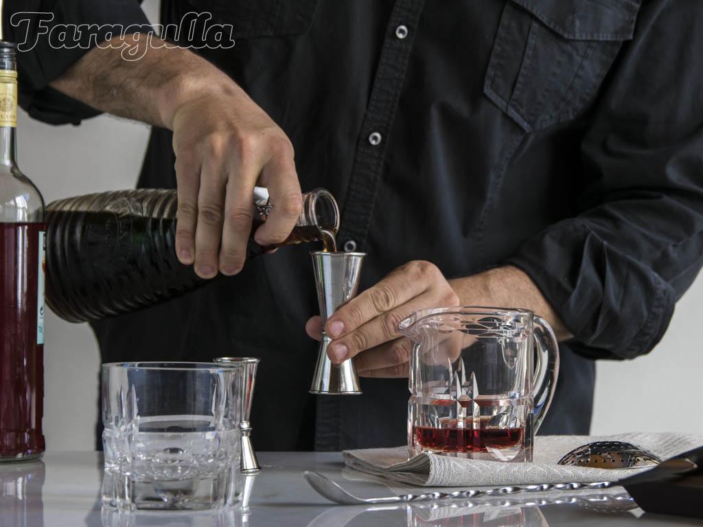 como preparar cocteles en casa, medir adecuadamente
