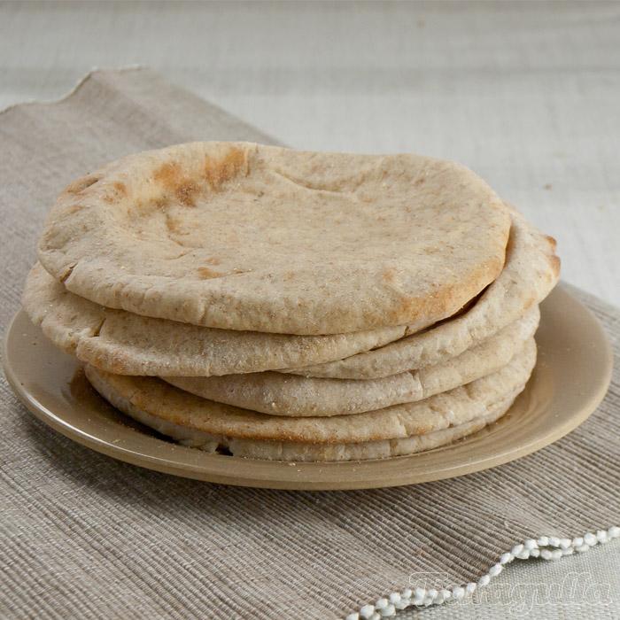 Pan pita casero de Dan Lepard