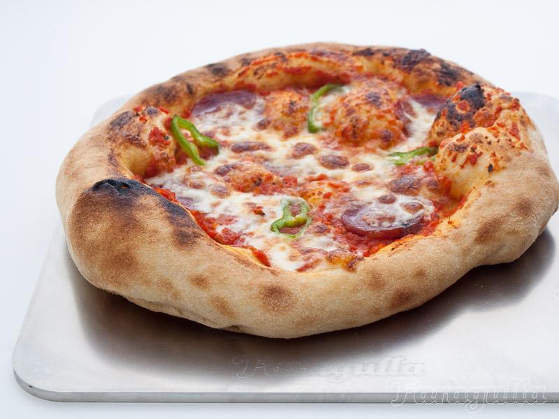 Plancha de acero para pizza o como hornear pizza en casa