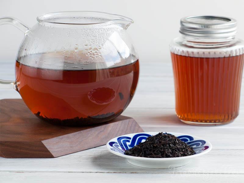 Sirope de Lapsang Souchong, aroma ahumado para tus cócteles
